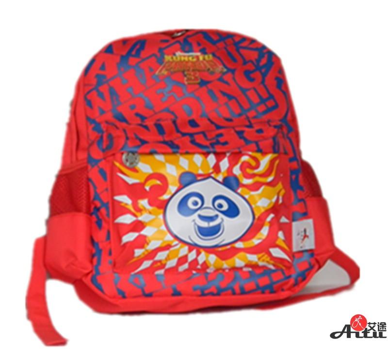 熊猫头书包